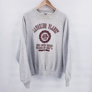 Vintage 90's Laughing Planet Crewneck Sweater